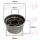 Air Cleaner Oil Bath Filter