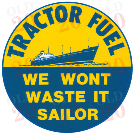 Decal - We Won't Waste It Sailor