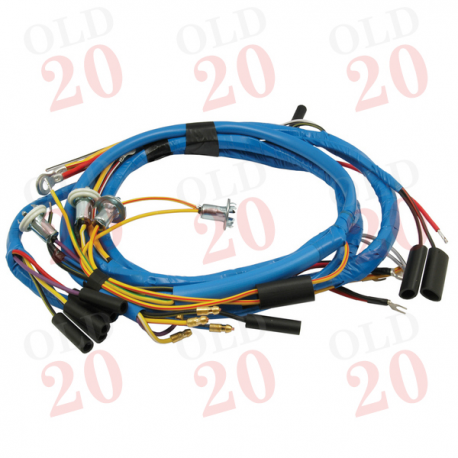 UK Made Fordson Major E1A Wiring Harness