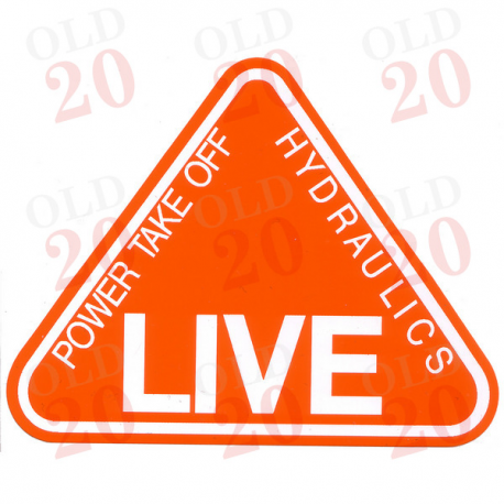 Decal - LIVE PTO