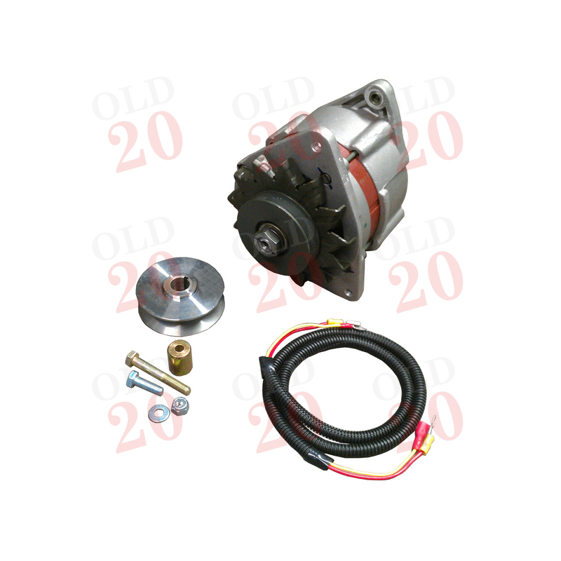 12v Alternator Conversion Kit Ferguson
