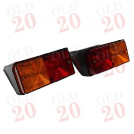 Ford Q-Cab & Super-Q Rear Lamp Set