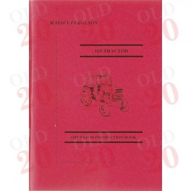Massey Ferguson 165 Drivers Instruction Book