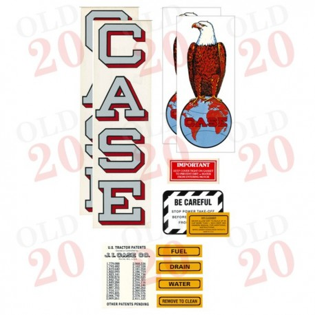 Early Style Case C Decal Set