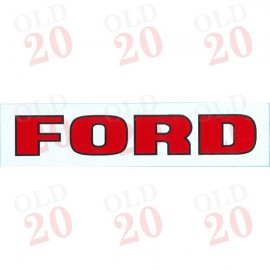 Ford Seat Decal