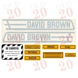 David Brown VAK Decal Set