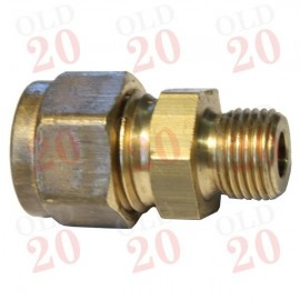 "Tap Pipe Adaptor (1/8"" BSP to 1/4"" UNF Compression)"