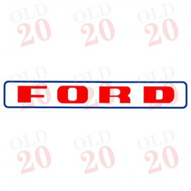 Ford Safety Cab Roof Decal
