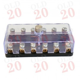 8 amp Ford Fuse Box (Clear Top)