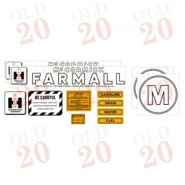 IH McCormick Farmall M Decal Set