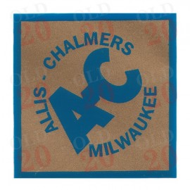 Large Allis Chalmers Diamond Decal