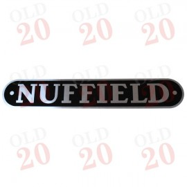 Nuffield Silver Bonnet Decal