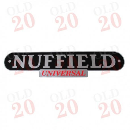 NUFFIELD UNIVERSAL TRACTOR BADGE.