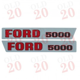 Pre-Force Ford 5000 Decal Set