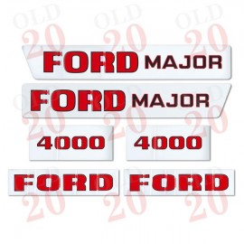 Ford 4000 'Major' Decal Set