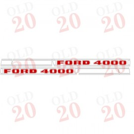 Ford Force 4000 Decal Set