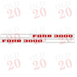 Ford Force 3000 Decal Set