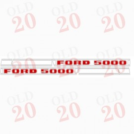 Ford Force 5000 Decal Set