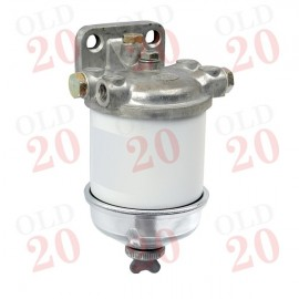 Tractor Single Fuel Filter Assembly with Glass Bowl