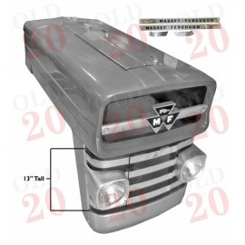 "MF135 Bonnet Kit with 13"" tall front grill"