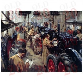 """Cuneo's Fordson E27N """"Quality Inspection"""" Poster"""