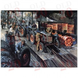 """Cuneo's Fordson E27N """"Final Assembly"""" Print"""
