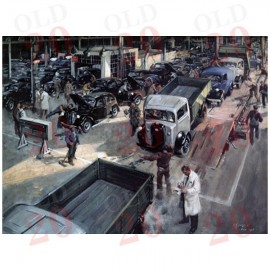 """Cuneo's """"Vehicle Inspection"""" Print"""