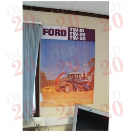 Ford TW Tractor Publicity Poster Reprint