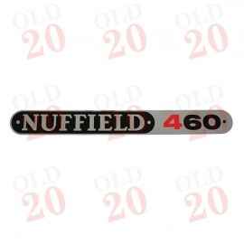 Nuffield 460 Bonnet Decal