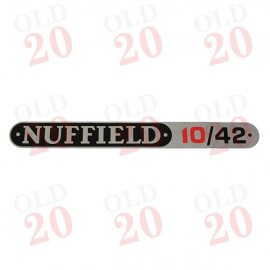 Nuffield 10/42 Bonnet Decal