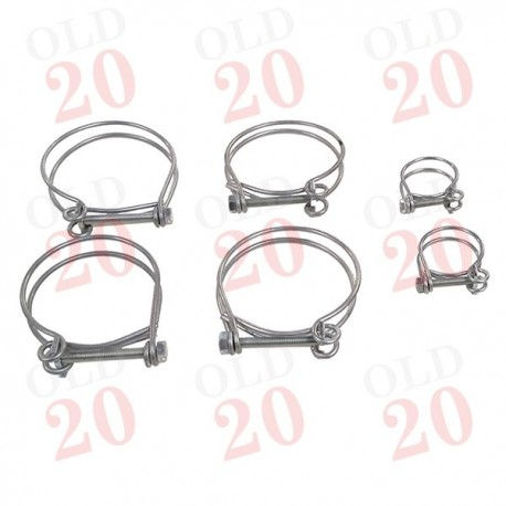 B250, B275 Later Type Wire Hose Clip Kit