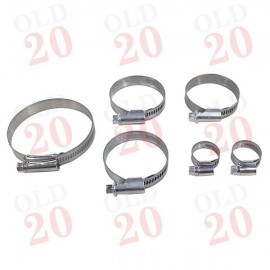 IH B250, B275 Jubilee Style Hose Clip Kit (Later tractors)