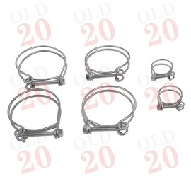 IH B250, B275 Wire Hose Clip Kit to suit stepped top hoses