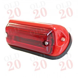 MF, Leyland Oblong Rear Lamp with Red Lens