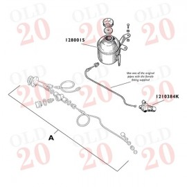 Fordson Major Hose Kit