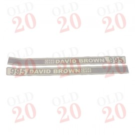 Case David Brown 995 Selectamatic Bonnet Decal Set