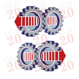 Ford Syncroshift Gear Decal (Pair)