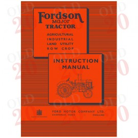 Fordson E27N Drivers Instruction Manual
