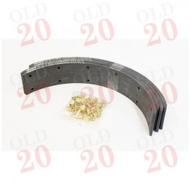 Ferguson, MF & Fordson Rubber Brake Shoe Lining Kit