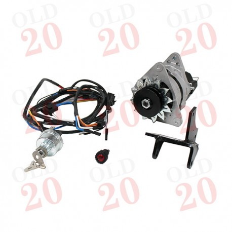 3 Cyl. MF35 and MF135 Dynamo to Alternator Conversion Kit