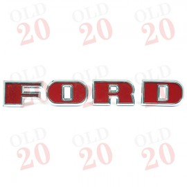FORD Front Badge Lettering