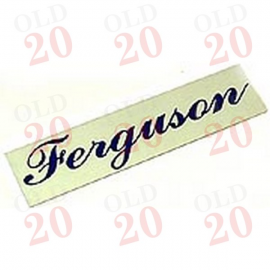 Badge - Ferguson Name Plate